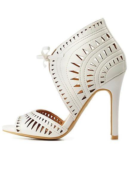 Laser-Cut Sandals
