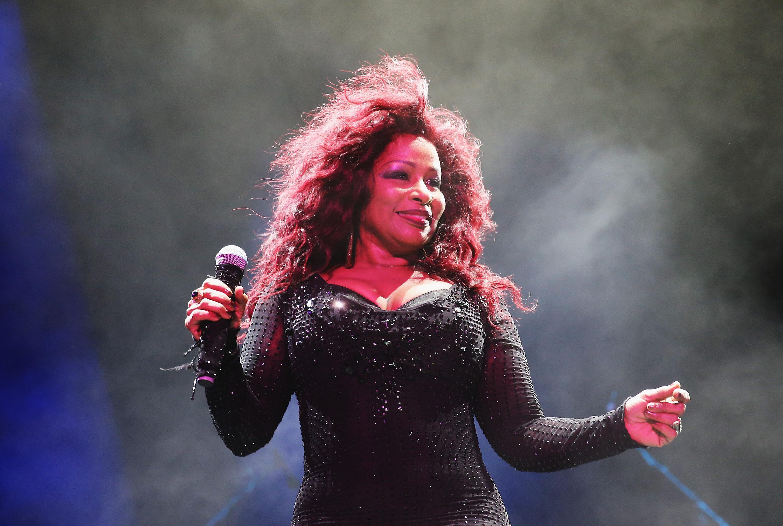 Chaka Khan Performs Live At Sydney Festival 2014