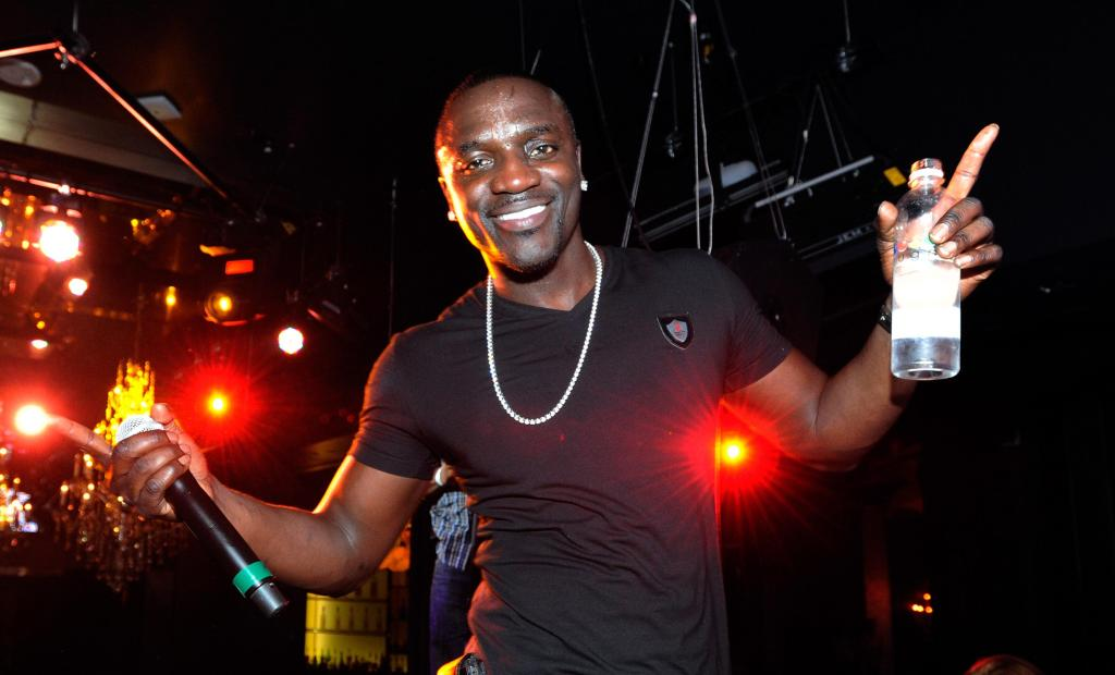 Akon performs at Chateau Nightclub & Gardens at Paris Las Vegas.