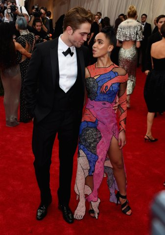 Celebrities arrive for the 2015 Met Gala
