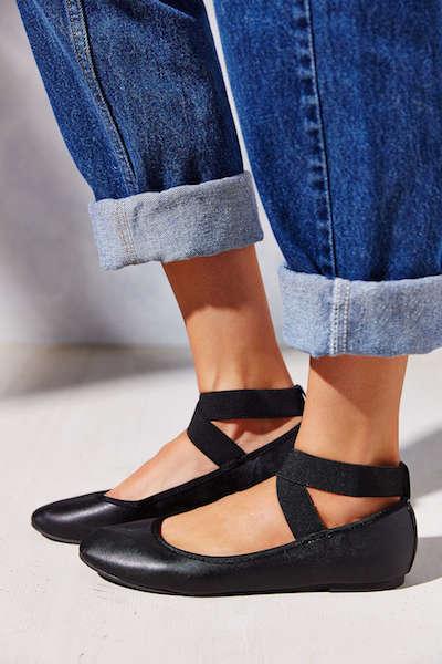 Ankle Wrap Flats