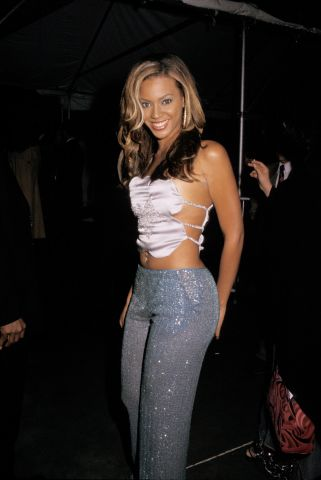 Beyonce in sparkles