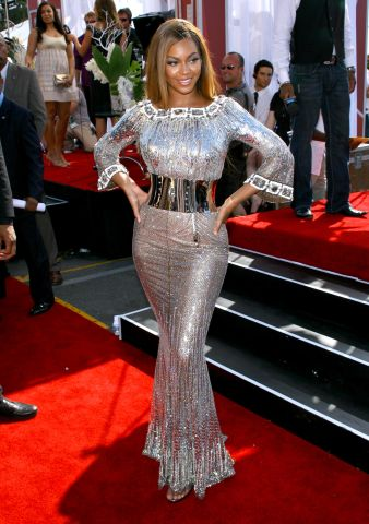 Beyonce In Too Much Silver