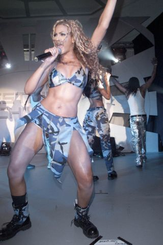 Beyonce In Fatigue
