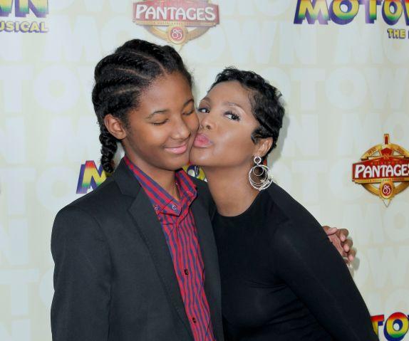 Toni Braxton And Son