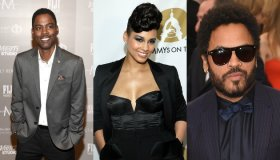 Chris Rock, Alicia Keys, Lenny Kravitz