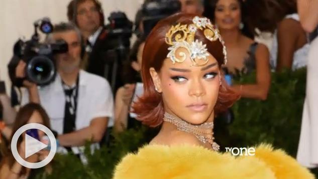 Rihanna in Yellow