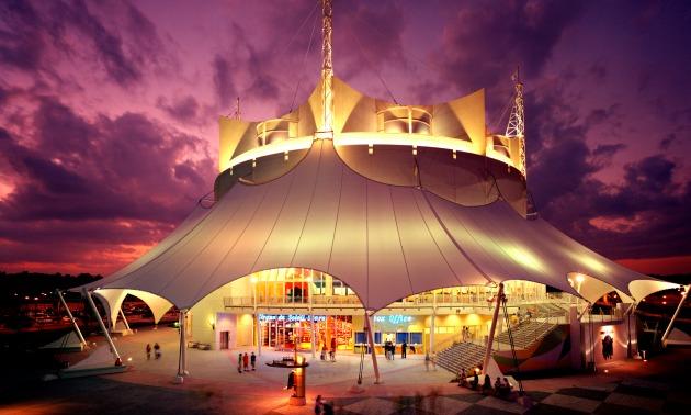 Disney La Nouba Tent