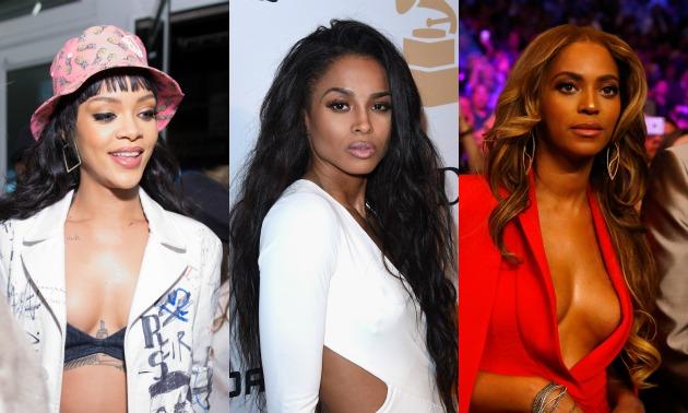 Rihanna/ Ciara/ Beyonce