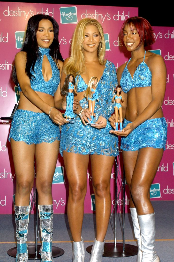 THEN: Beyonce With Destiny's Child In 2000