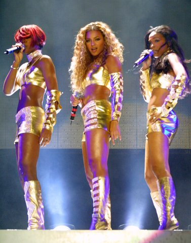 Destiny's Child Opening of MTV's 'TRL' Tour at Pepsi Arena - July 18, 2001