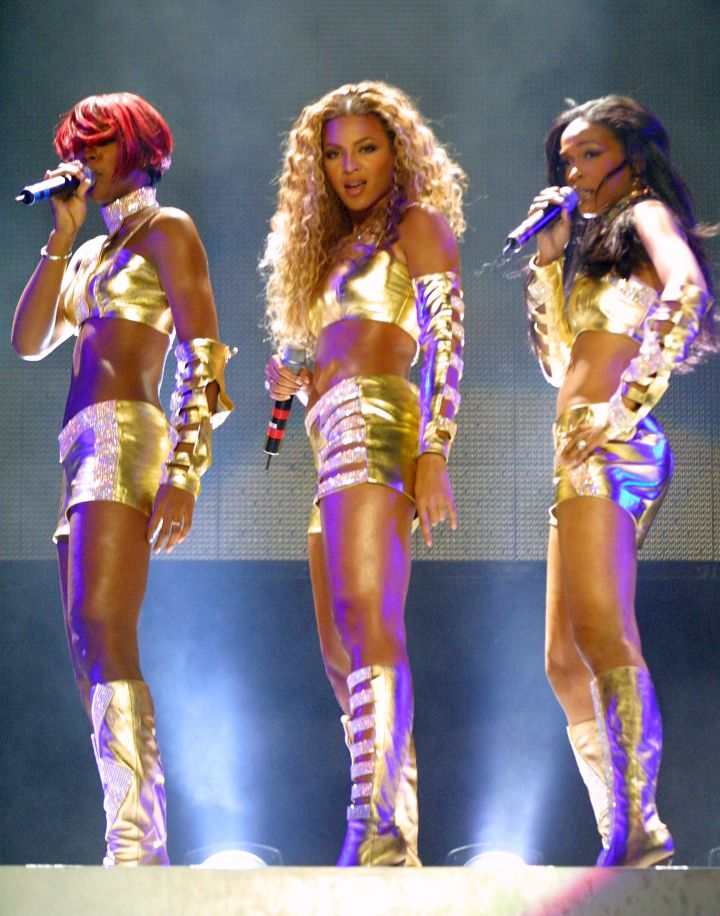 Destiny's Child Opening of MTV's 'TRL' Tour at Pepsi Arena – July 2001