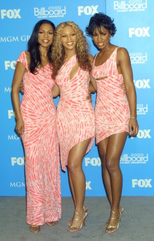 Destiny's Child Pink Dresses