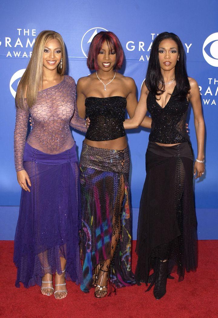 Destiny's Child, 2002 Grammys