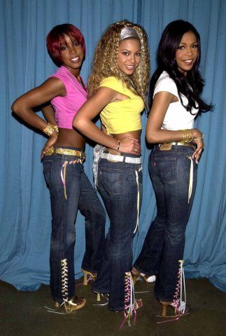 Destiny's Child Levi's Superlow Jeans Photo Shoot