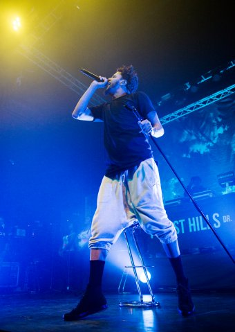 J. Cole Performs At O2 ABC In Glasgow