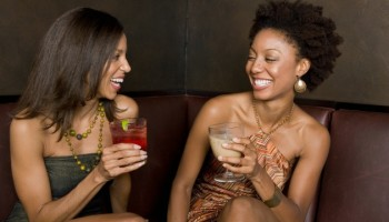 Black Girls Drinking