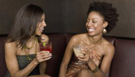 Black Girls Drinking