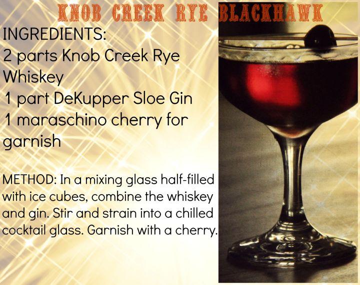 Knob Creek Rye Blackhawk