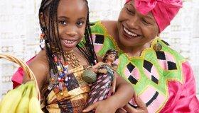 Natural Doll, Mom & Daughter