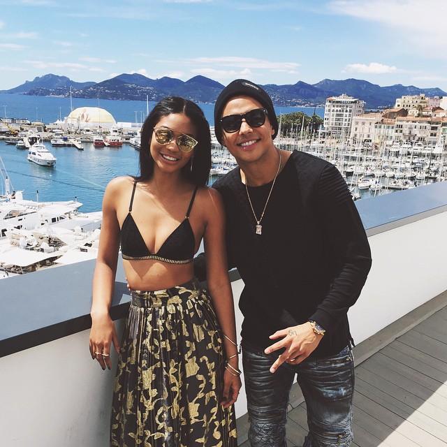 Chanel Iman & Quincy