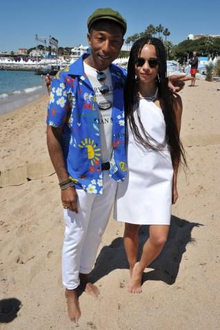 Pharrell & Zoe Kravitz
