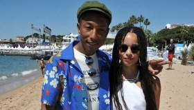 Pharrell Williams & Zoe Kravitz