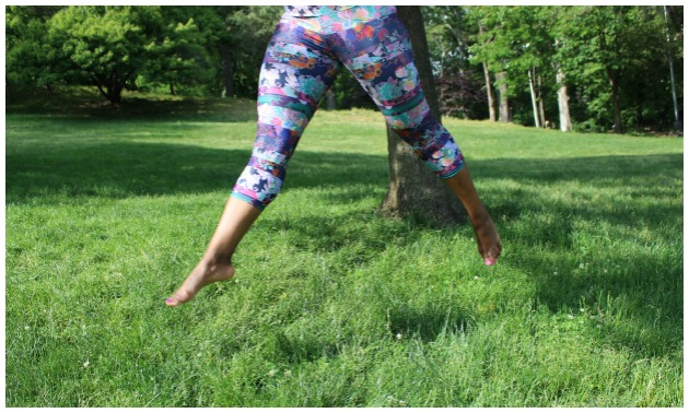 Floral Fitness Fashion