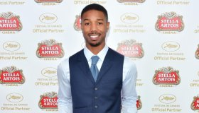 Michael B. Jordan visits the Stella Artois suite at the 66th Cannes Film Festival - The 66th Annual Cannes Film Festival
