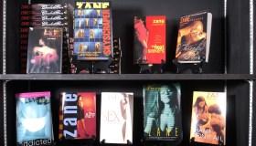 Author Zane Poses For Portrait