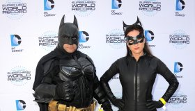 Warner Bros. And DC Comics Super Hero World Record Event