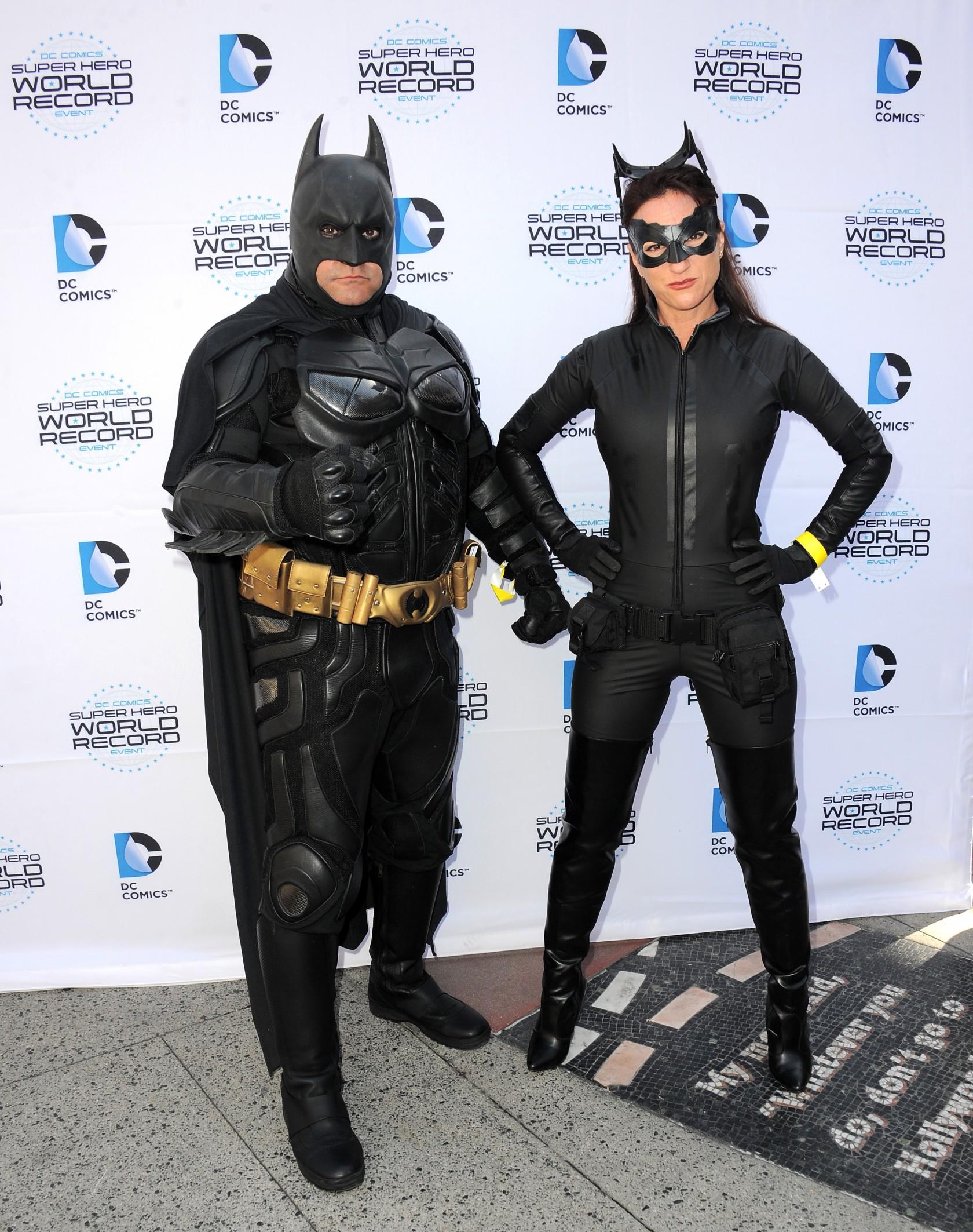 Warner Bros. And DC Comics Super Hero World Record Event