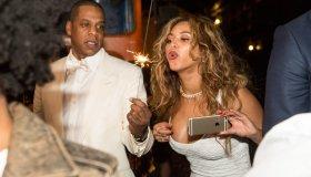 Beyonce At Solange Wedding
