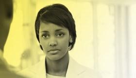 Black Woman Serious Face