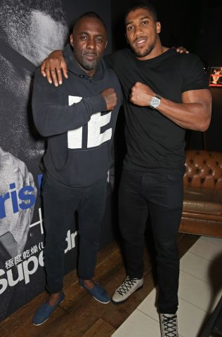 The Official Idris Elba + Superdry Presentation At LCM - After Party