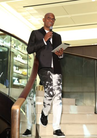 Samuel L. Jackson Hosts One For The Boys Dinner At Asprey To Launch A Month Of Fundraising Events To Fight Male Cancer