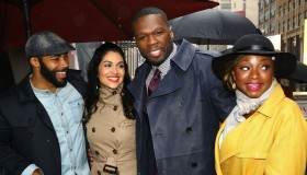 Cast Of 'Power' Hand Out Tickets To The New York Premiere