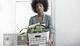 Black woman unemployed
