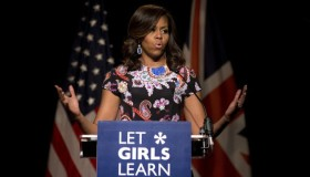 BRITAIN-US-DIPLOMACY-WOMEN-EDUCATION