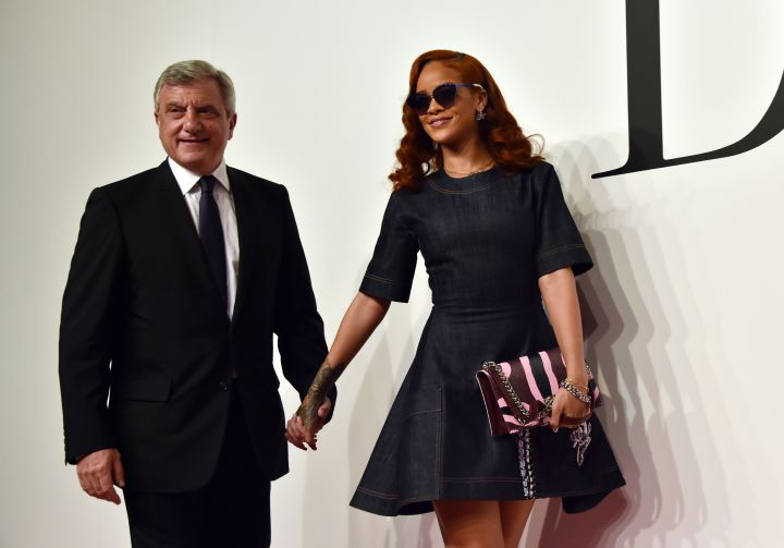 Rihanna & Christian Dior CEO Sidney Toledano
