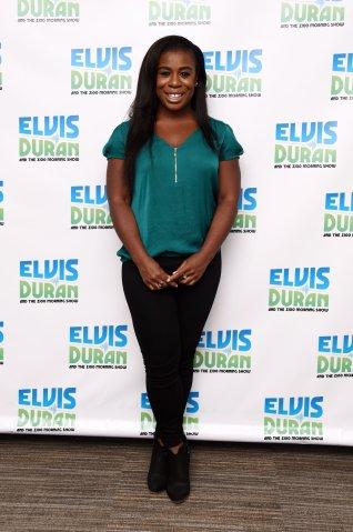 Uzo Aduba Visits 'The Elvis Duran Z100 Morning Show'
