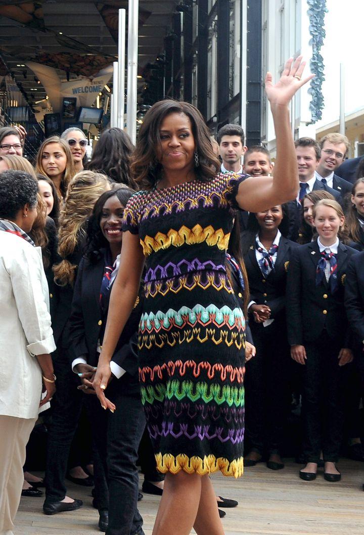 Michelle Obama Visits Milan