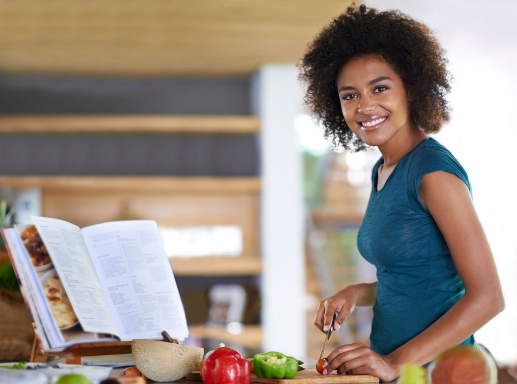 Creating a delicious dish from healthy veggies