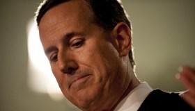 Rick Santorum Makes Announcement On Presidential Bid