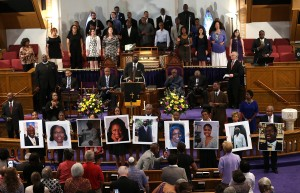 Vigil Held For Victims Of Charleston Church Shooting