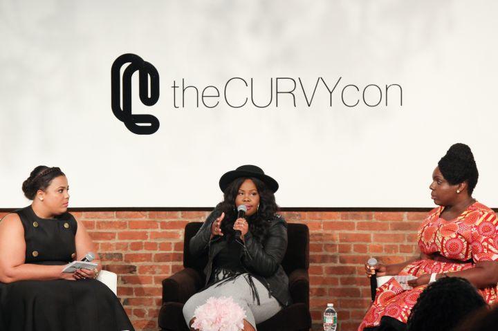 Chastity Garner, Amber Riley & Cece Olisa On A Panel