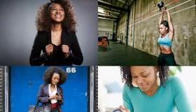 Collage of Black women