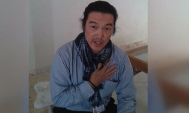 Japanese hostage Kenji Goto Jogo captured by ISIL