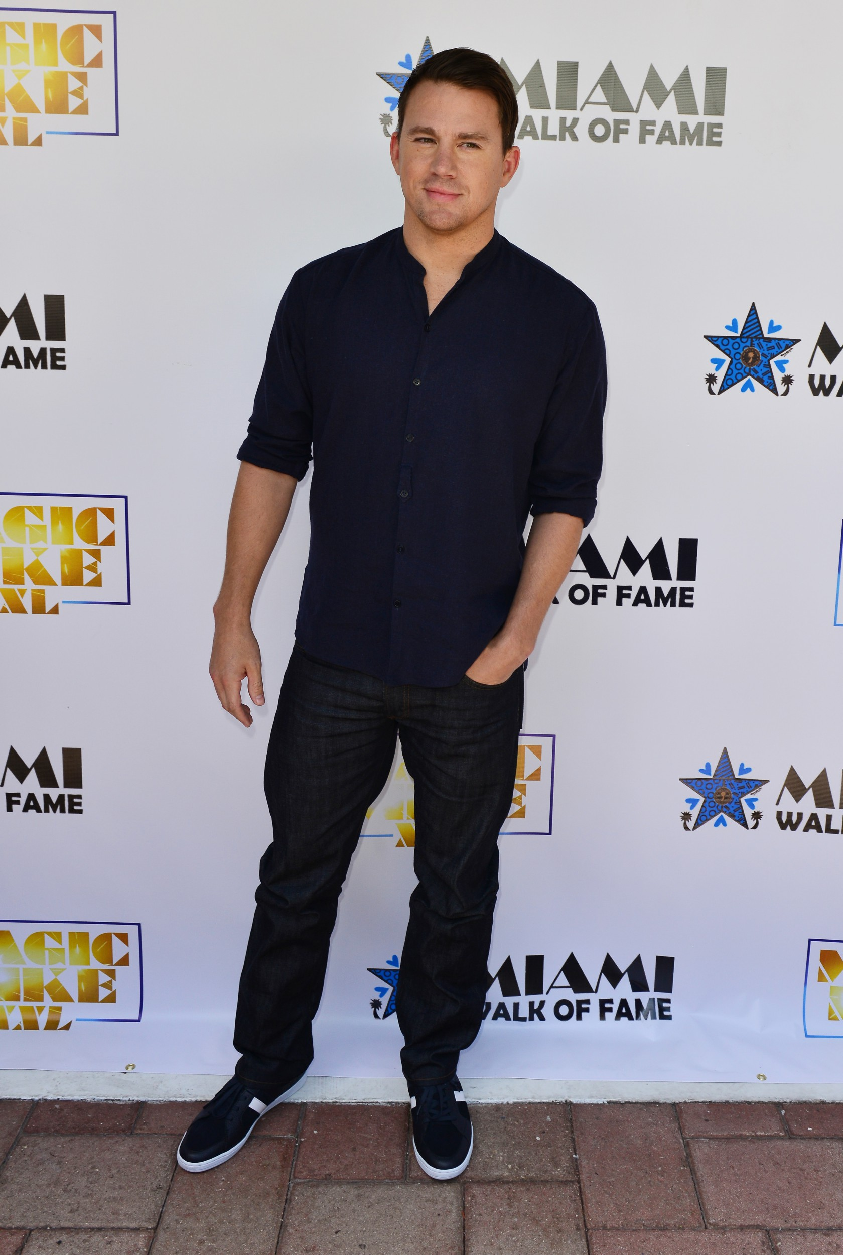 'Magic Mike XXL' Cast Honored With Stars On The Official Miami Walk Of Fame
