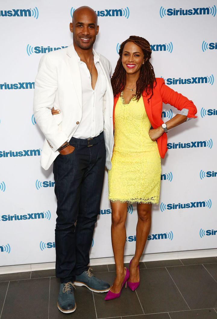 Boris Kodjoe and Nicole Ari Parker
